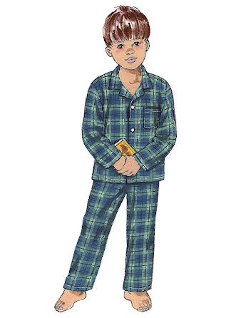 Pyjamas/Linne Kwik Sew 3126