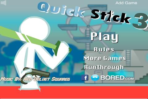 Quick Stick Figure Fight 3|玩休閒App免費|玩APPs