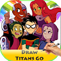 Learn To Draw Teen Titans APK icon