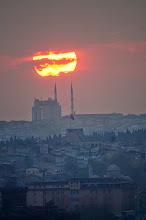 Photo: sunset from Galata tower