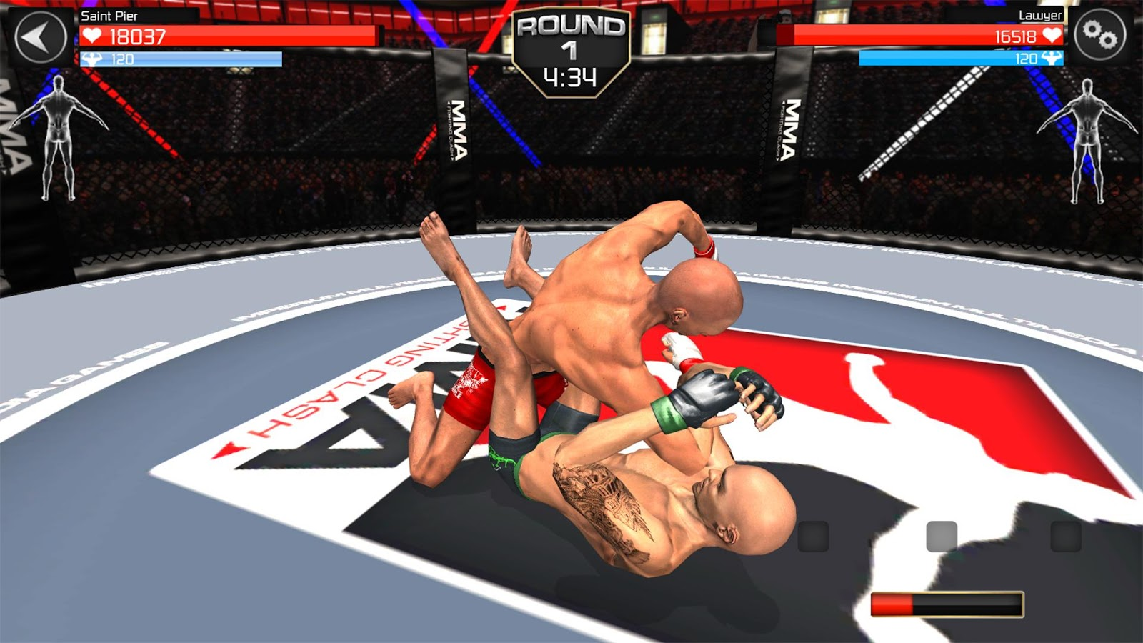 MMA Fighting Clash- screenshot