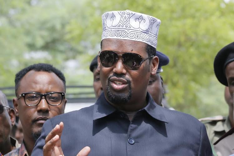 Mandera Governor Ali Roba.