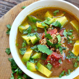 Clean Eating Slow Cooker Taco Soup.