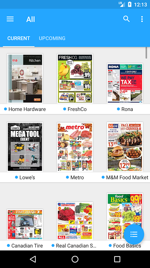 Reebee Shopping List Amp Flyers Android Apps On Google Play