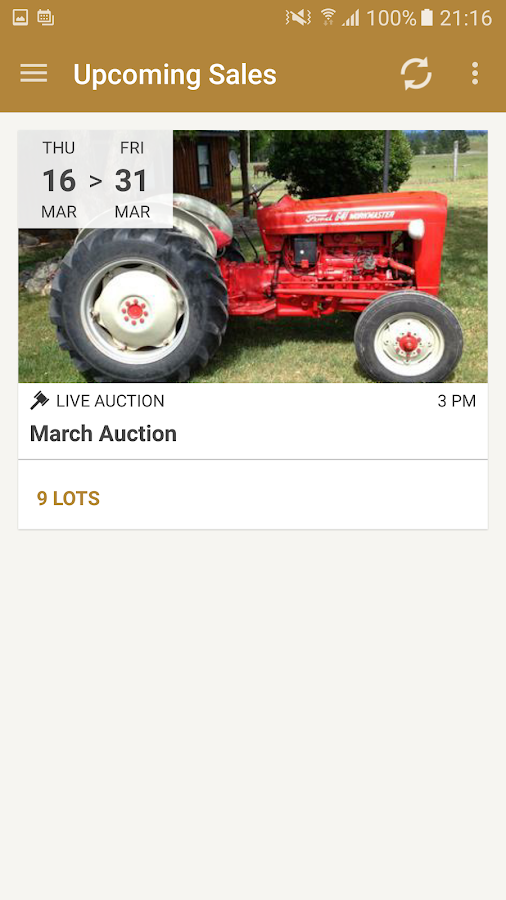 Roshon's Auction Service- screenshot
