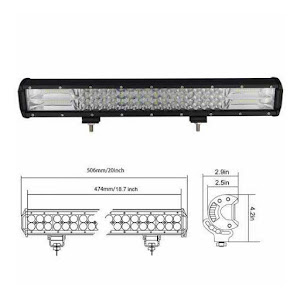 Proiector auto LED 288W OFF Road - PLA288W