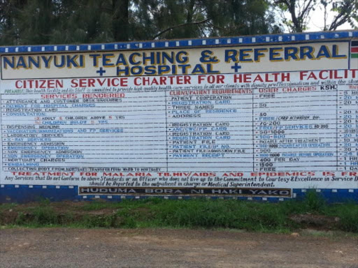 heath programs and plans in laikipia county