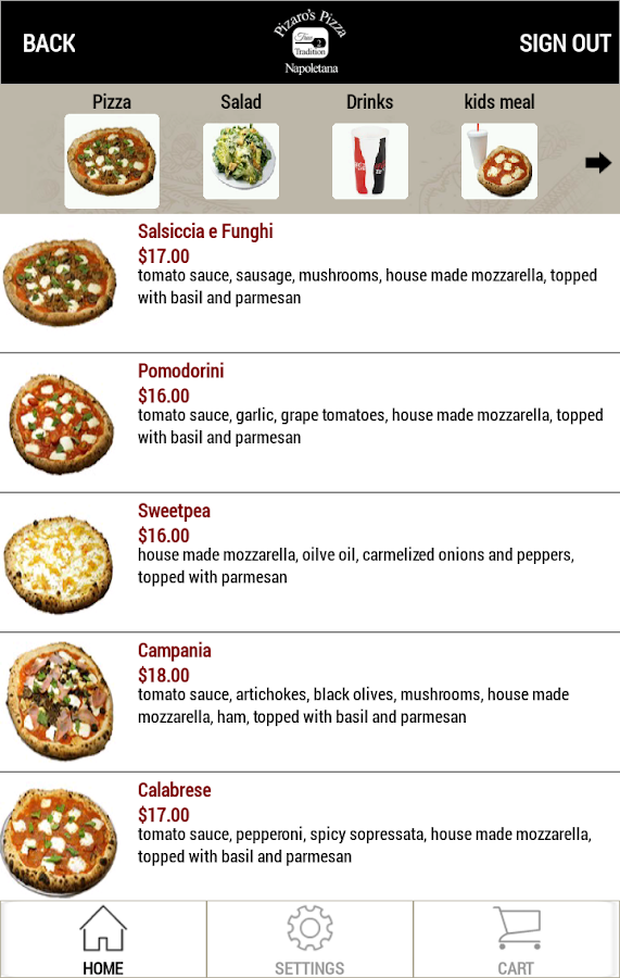 Pizaro's Pizza Napoletana- screenshot