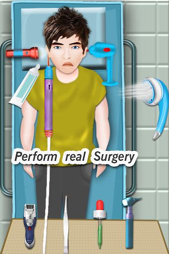 耳の手術シミュレータゲーム
