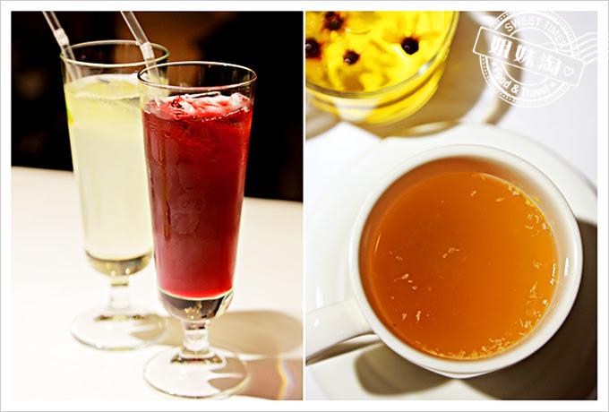 新國際西餐廳自然草本洛神花蜜茶