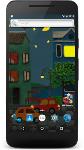 Town Live wallpaper HD- screenshot thumbnail