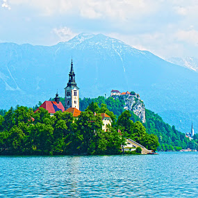 Lake Bled by Primož Ogorevc - Landscapes Mountains & Hills
