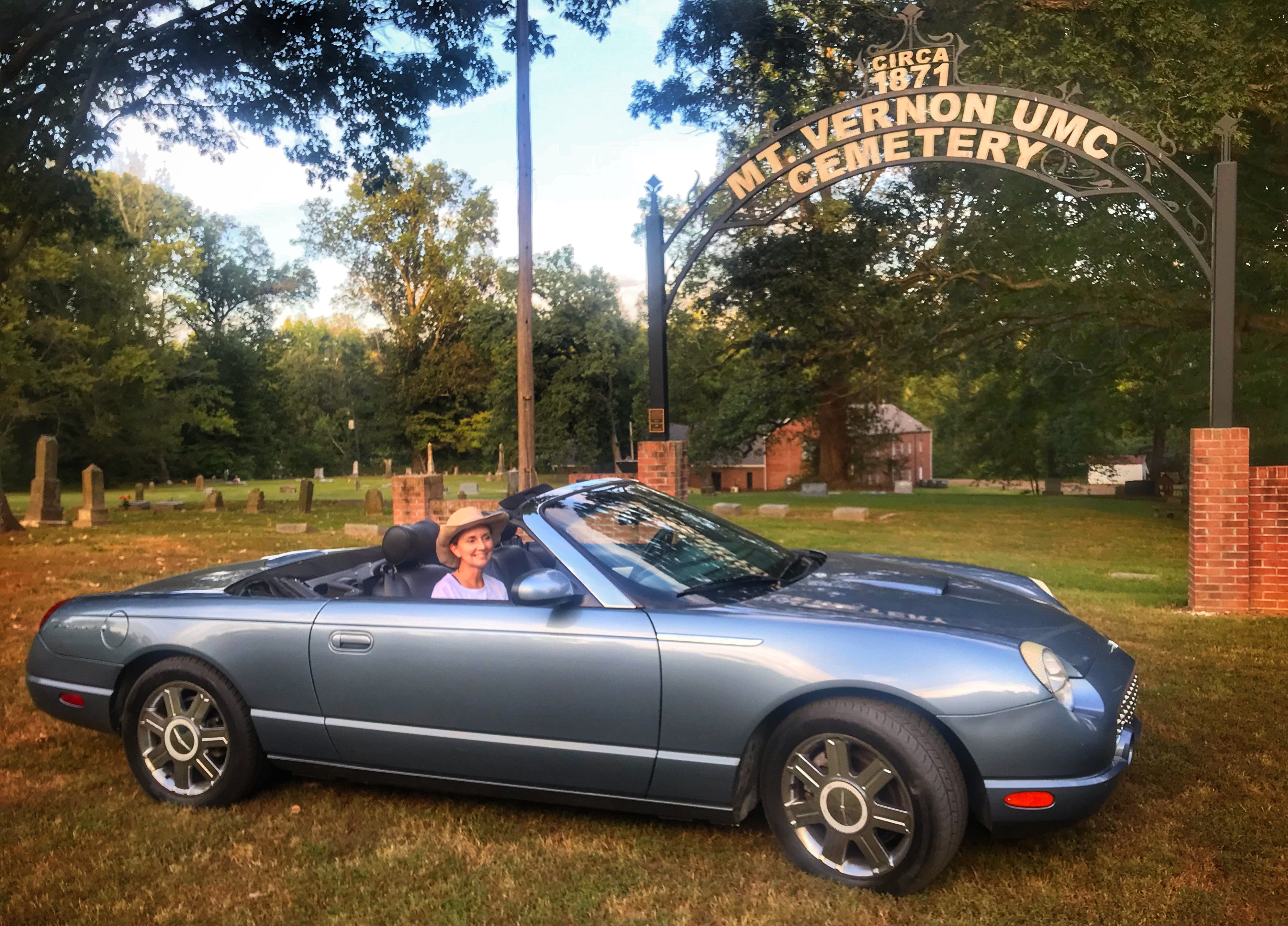Ford Thunderbird 50th Anniversary Edition Hire Arlington