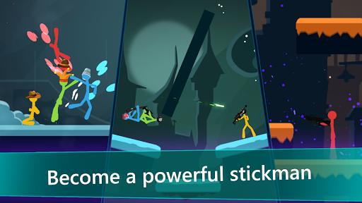 Trở thành người que mạnh nhất trong game Stickfight Infinity