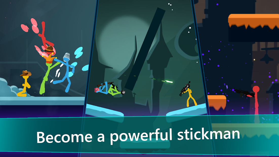 Stickfight Infinity Android App Screenshot