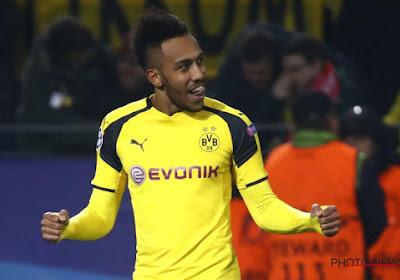 Aubameyang laisse Dortmund dans les traces de Leipzig