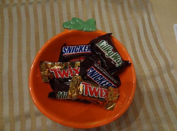 Halloween Candy Brownies Recipe