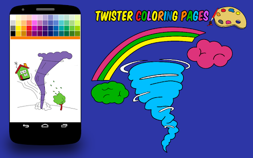 Twister Coloring Pages- screenshot thumbnail
