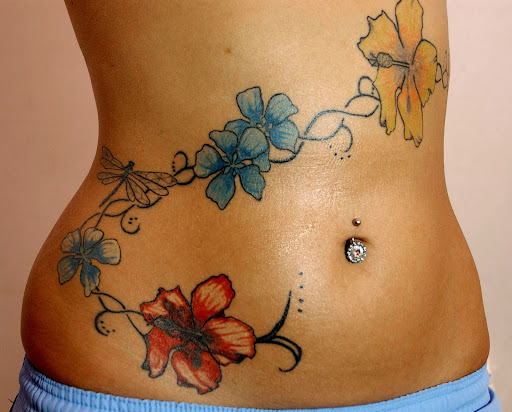 Celebrity Tattoo, Girl Tattoo, Women Tattoo, Tattoos, Flower Tattoos