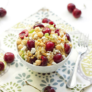 Barley Salad with Chickpeas and Cherries