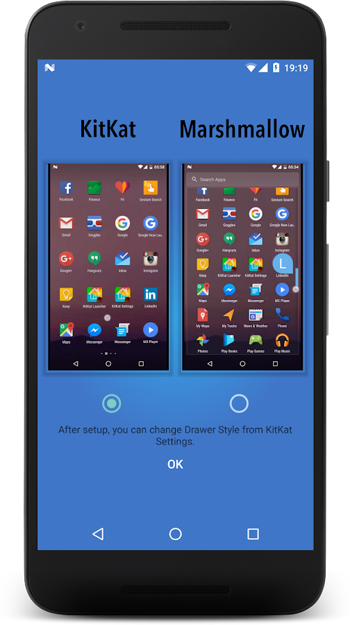 KitKat Launcher- screenshot