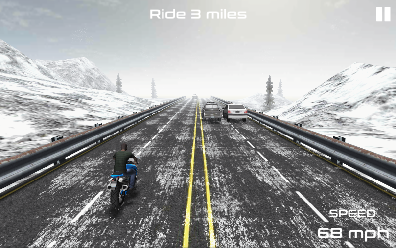 Moto Highway Racing- screenshot