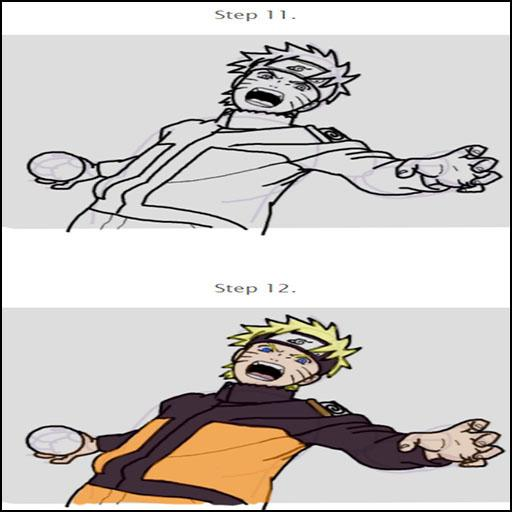 How To Draw Naruto For Fans