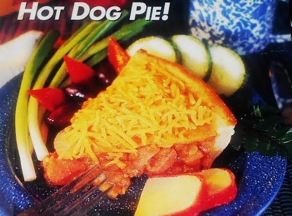 Hot Dog Bean Pie...a Quick & Easy Surprise Recipe
