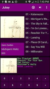 Jukey - Jukebox Music Player Screenshot