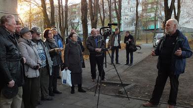 Photo: Vilius Biskis prisimena grafiką Eduardą Juchnevičių.