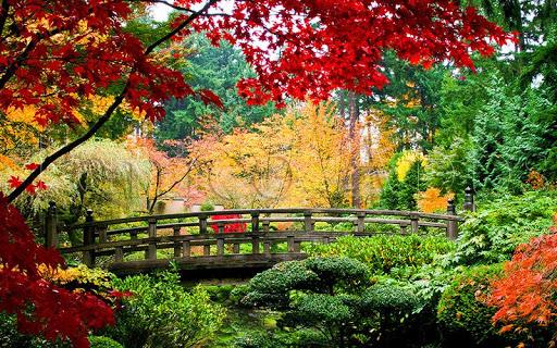 Jardins et Parcs Puzzle  captures d'écran 1