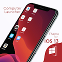 OS13 Theme for computer launcher icon