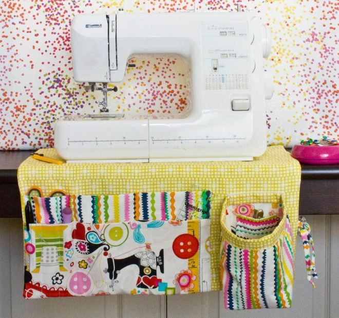 Colorful Sewing Machine Apron