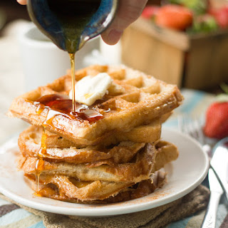 Vegan French Toast Waffles Recipe