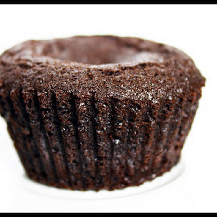 Chocolate Muffins with White Chocolate Filling Recipe