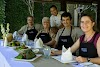Indonésie. Cours de cuisine de Bali. Les résultats de nos balinais, cours de cuisine avec le Chef Mandge