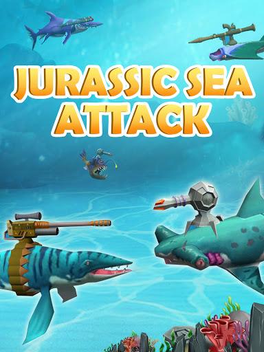 Jurassic Sea Attack filehippodl screenshot 1