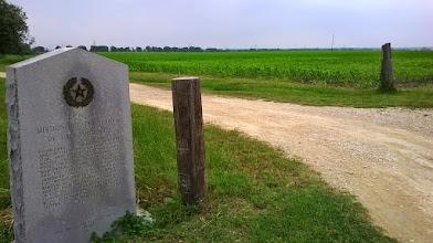Photo: THC marker - Milam County - Candelaria