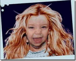 The Baby hairmixed with Britney Spears rofl