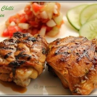 Lemony Chilli Grilled Chicken