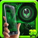 Alien Creeper ? Technical Ufo 3D Icon