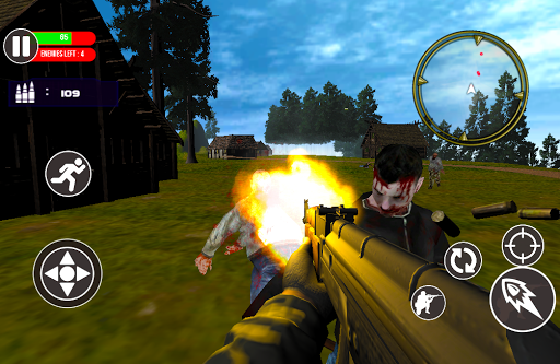 SURVIVAL BATTLE  ROYALE HEROES: Crazy Zombie Game cheat screenshots 2