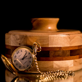 Watch and Wood by Greg Bennett - Artistic Objects Still Life (  )