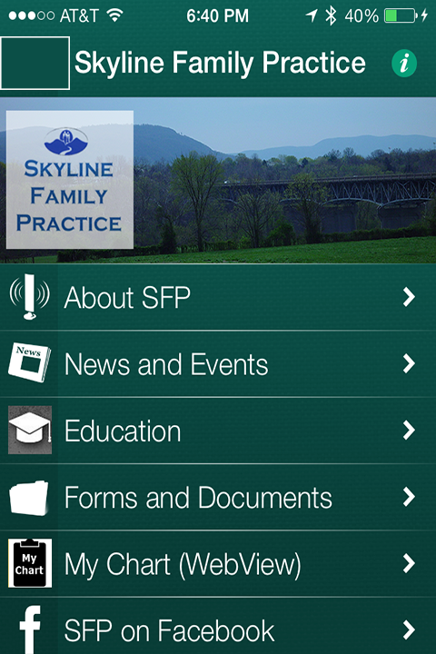 Skyline Family Practice- screenshot