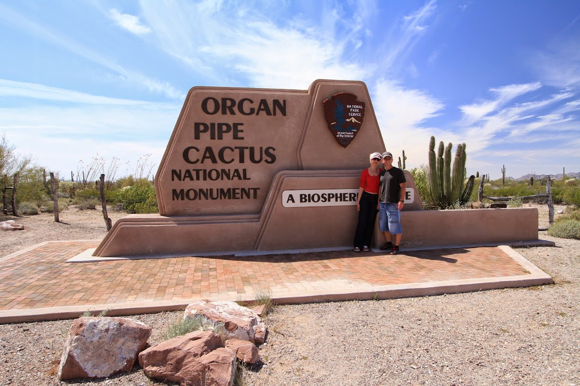 Национальный парк Органный кактус