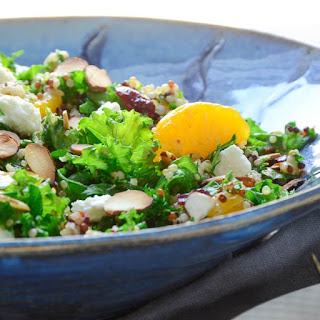 Mandarin Quinoa And Kale Salad