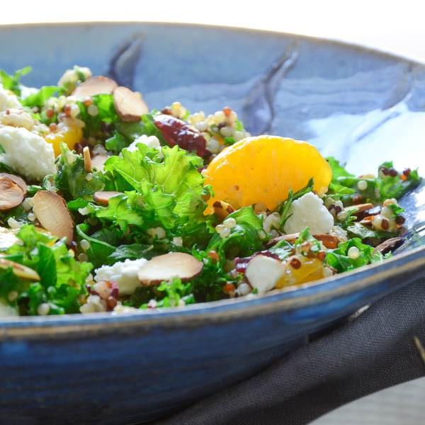 Mandarin Quinoa And Kale Salad Recipe | Yummly