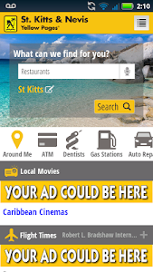 St. Kitts Nevis Yellow Pages screenshot 3