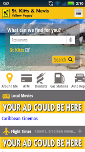 St. Kitts Nevis Yellow Pages- screenshot thumbnail