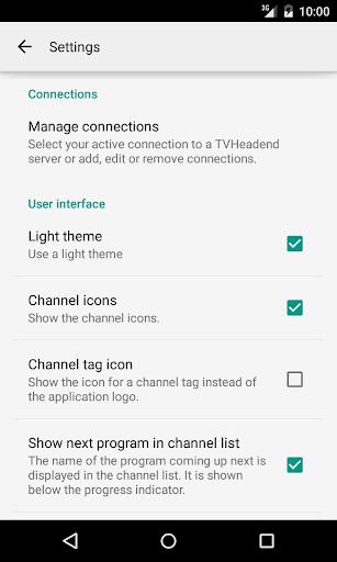 TVHClient  screenshots 6